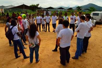 Equipe de mobilização do Rondon Minas